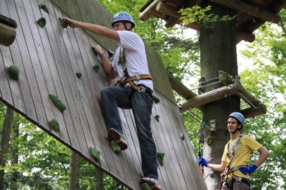 Klettergartenevent in der Sommerpause