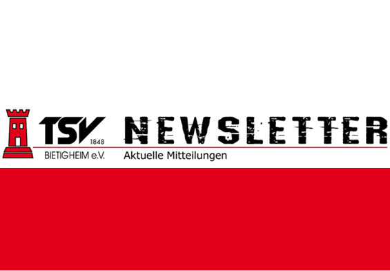 Jetzt den TSV-Newsletter abonnieren!