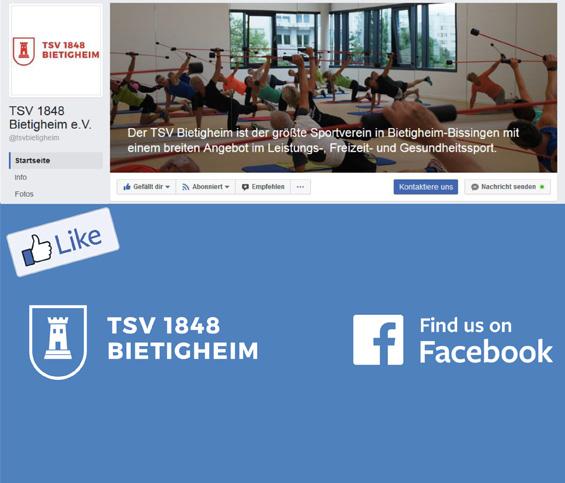 Immer up to date - Folgt dem TSV bei Facebook