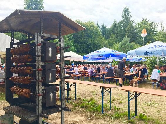Waldfest 2017 Grill