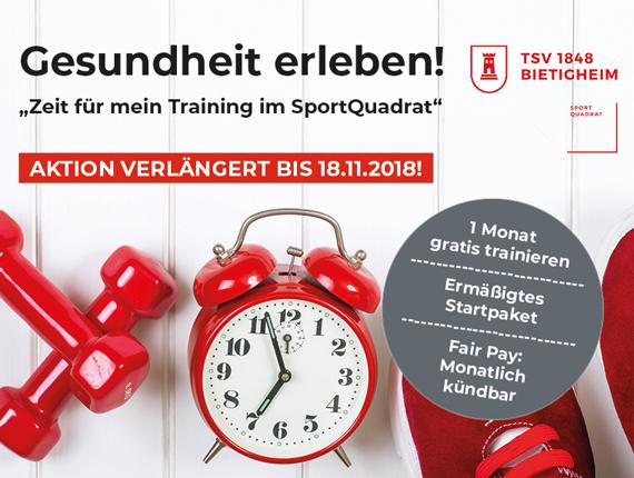 Herbstaktion im SportQuadrat wird verlängert!