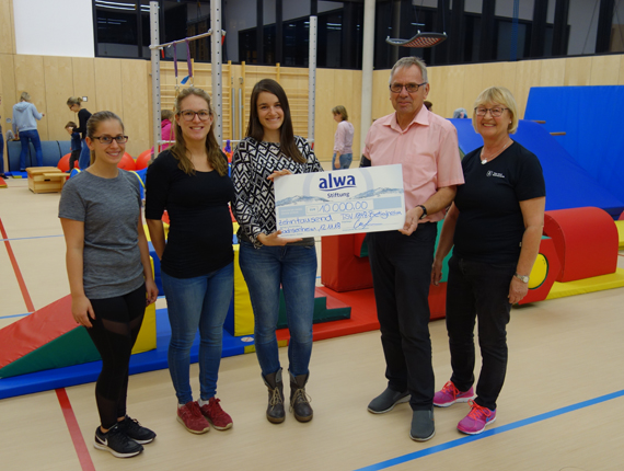 alwa-Stiftung unterstützt Jugendarbeit beim TSV