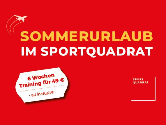 Sommeraktion im SportQuadrat