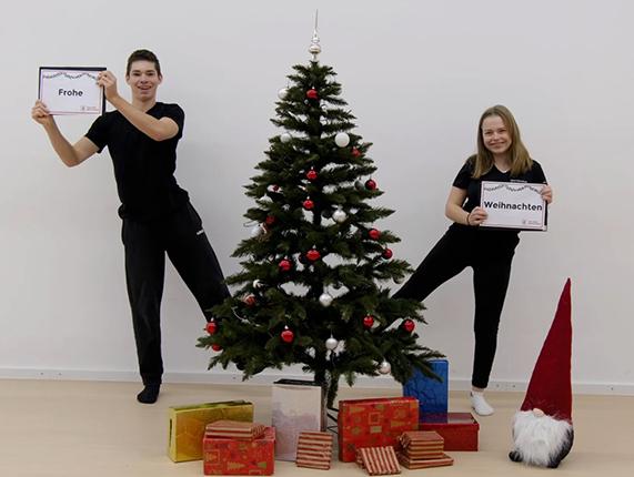 Weihnachtswünsche per Video!