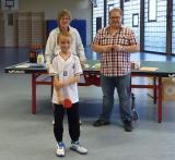Turnierleitung Birgit Nägele und Marius Heuler