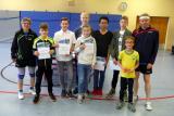 Siegerehrung Jugend-Doppel