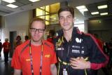 mit Doppel-Europameister Patrick Franziska